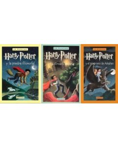 PACK HARRY POTTER 1 2 Y 3 (TAPA DURA)