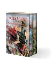 HARRY POTTER ILLUSTRATED BOX SET X 2