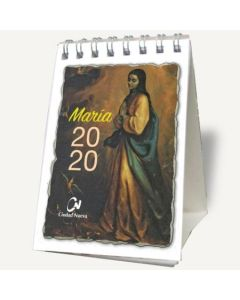 MARIA 2020 CALENDARIO DE ESCRITORIO