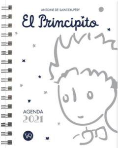 AGENDA EL PRINCIPITO 2021 BLANCA