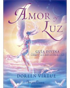 AMOR Y LUZ GUIA DIVINA LIBRO Y 44 CARTAS ORACULO