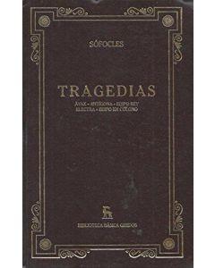 TRAGEDIAS AYAX ANTIGONA EDIPO REY ELECTRA EDIPO EN COLONO