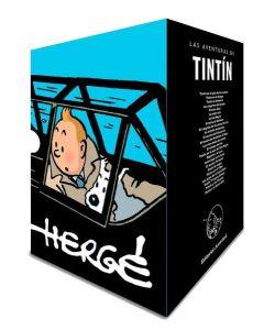 TINTIN COFRE ANIVERSARIO 24 TOMOS