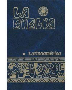 BIBLIA LATINOAMERICA CHICA FLEXIBLE AZUL VINO