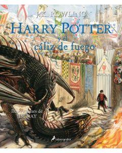 HARRY POTTER Y EL CALIZ DE FUEGO 4 ILUSTRADO