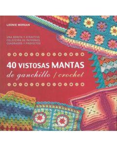 40 VISTOSAS MANTAS DE GANCHILLO CROCHET