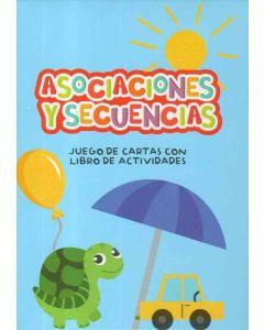 ASOCIACIONES Y SECUENCIAS JUEGO DE CARTAS CON LIBRO DE ACTIVIDADES