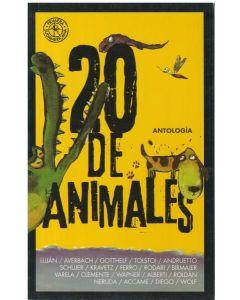20 DE ANIMALES