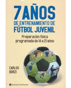 7 AÑOS DE ENTRENAMIENTO DE FUTBOL JUVENIL