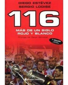 116 MAS DE UN SIGLO ROJO Y BLANCO