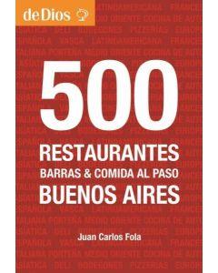 500 RESTAURANTES DE BUENOS AIRES