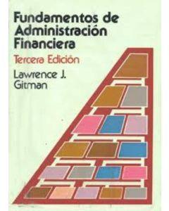 FUNDAMENTOS DE ADMINISTRACION FINANCIERA 3/ED.