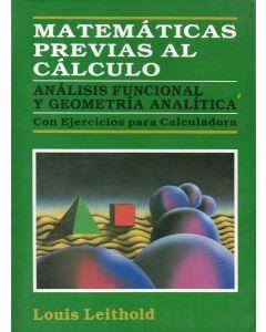 MATEMATICAS PREVIAS AL CALCULO