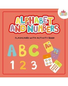 ALPHABET AND NUMBERS FLASHCARDS WITH ACTIVITY BOOK