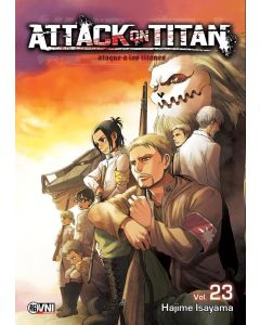 ATTACK ON TITAN ATAQUE A LOS TITANES VOL 23