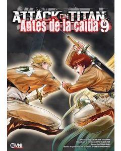 ATTACK ON TITAN ANTES DE LA CAIDA VOL 9