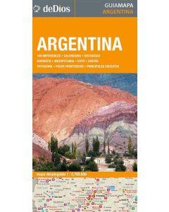 ARGENTINA. GUIA MAPA